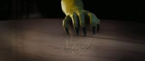 Oz - green claw