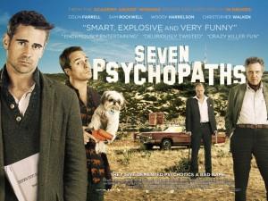 Seven Psychopaths - quad poster