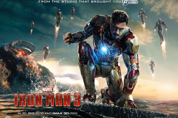 Iron Man 3 - Electric Shadows