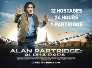Alan Partridge Alpha Papa - quad poster