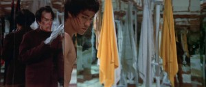 Enter the Dragon feature - Bruce Lee, Shih Kien, mirrors