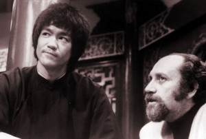 Enter the Dragon feature - Bruce Lee and Fred Weintraub