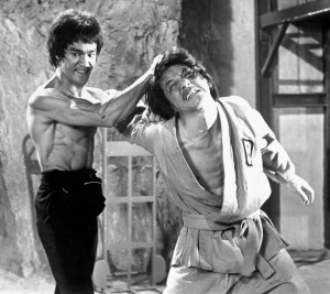 Enter the Dragon feature - Bruce Lee and Jackie Chan