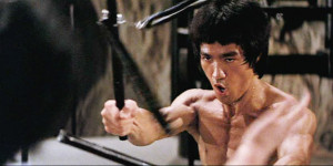 Enter the Dragon feature - Bruce Lee nunchucks