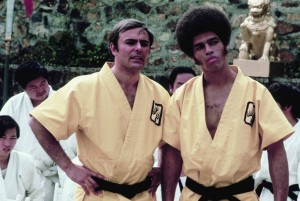 Enter the Dragon feature - John Saxon, Jim Kelly