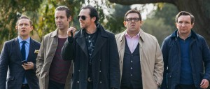 World's End - Frost, Pegg, Considine, Freeman, Marsan - Reservoir Dogs walking