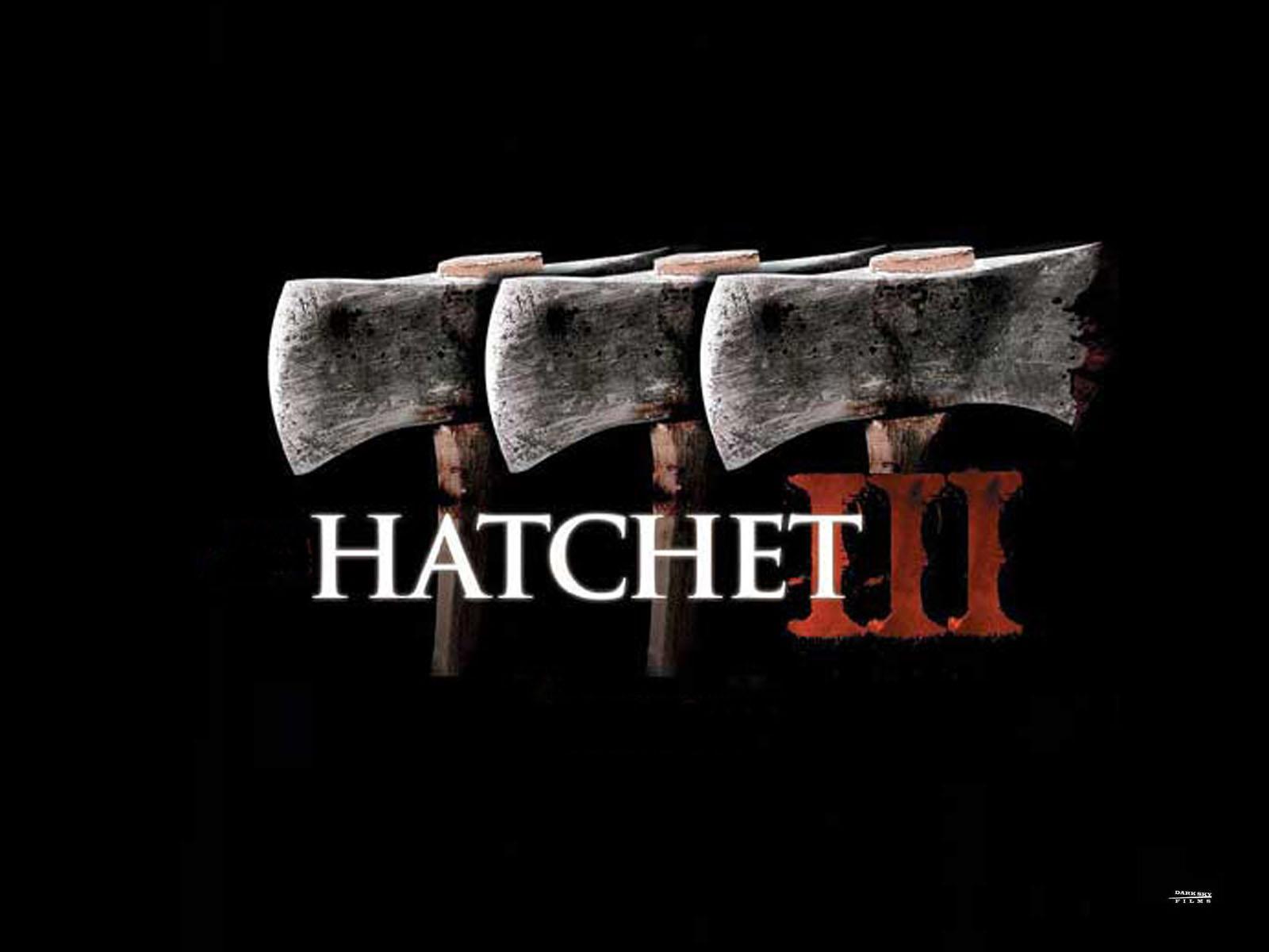 hatchet movie based on book. hatchet iii - poster movie based on book