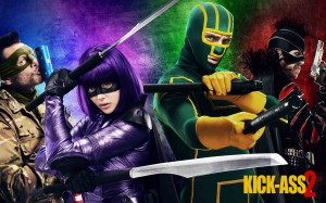 Kick-Ass 2 - quad poster, Aaron Taylor-Johnson, Jim Carrey, Chloe Grace Moretz, Christopher Mintz-Plasse