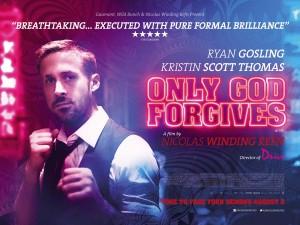 Only God Forgives - quad poster