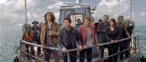 Percy Jackson - Sea of Monsters - Lerman, Daddario, Jackson, Tyson, Rambin