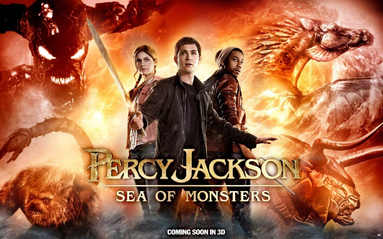Movie Review: Percy Jackson: Sea of Monsters - Electric ...