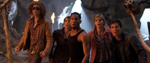 Percy Jackson - Sea of Monsters - Tyson, Lerman, Daddario, Rambin, Jackson