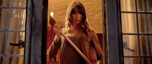 You're Next - Sharni Vinson, axe