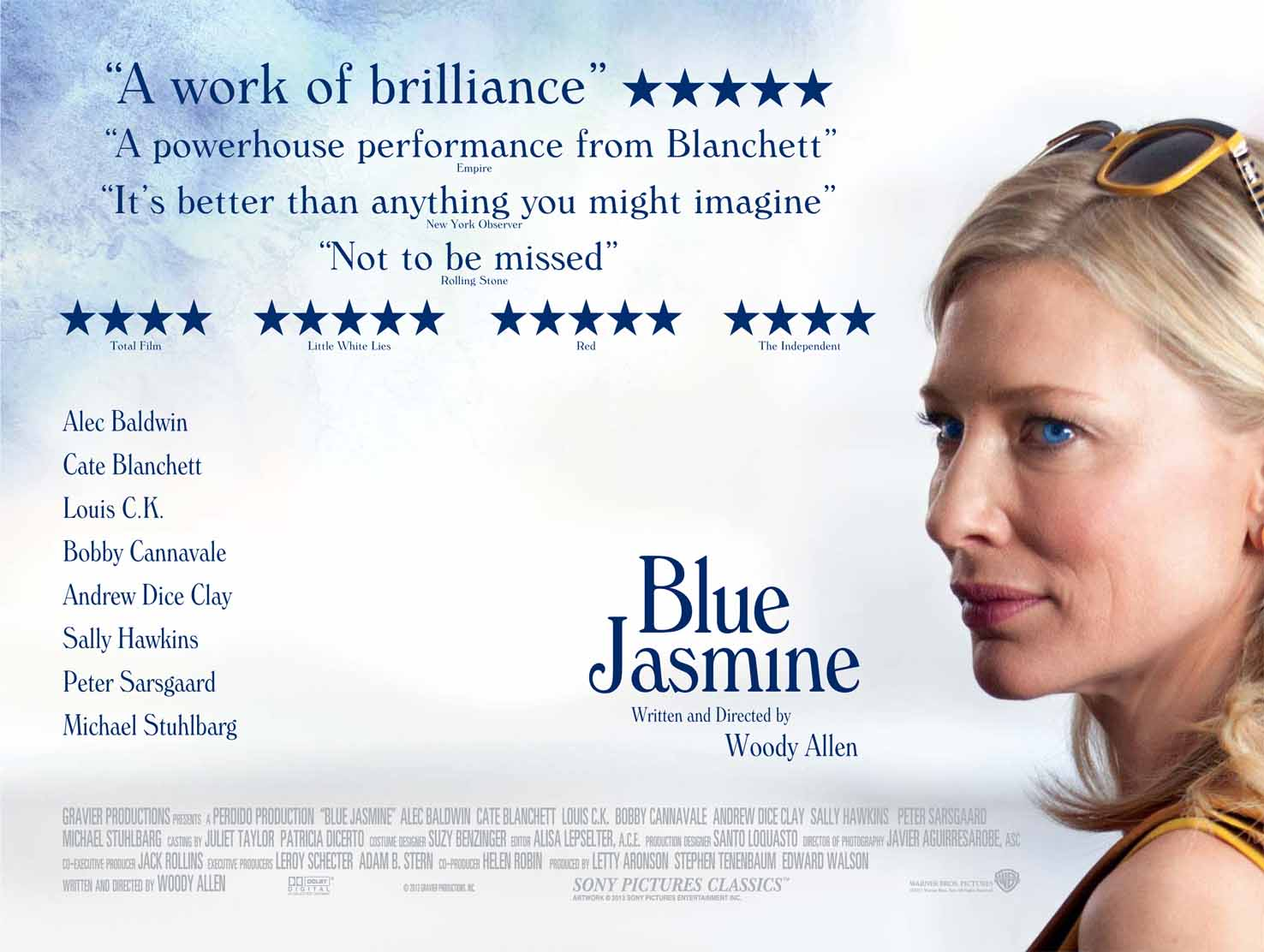movies review blue jasmine electric shadows. Black Bedroom Furniture Sets. Home Design Ideas