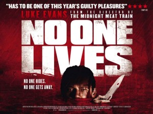 No One Lives - quad poster, Luke Evans
