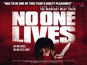 No One Lives - quad poster, Luke Evans