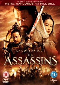 The Assassins - DVD cover