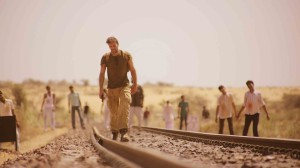 The Dead 2 India - Joseph Millson, zombie, train track