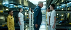 Ender's Game - Asa Butterfield, Harrison Ford