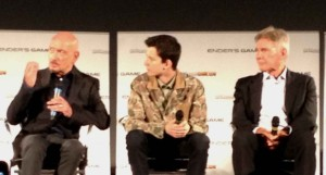 Ender's Game Q&A - Harrison Ford, Asa Butterfield, Ben Kingsley