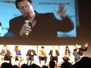 Ender's Game Q&A - Harrison Ford, Asa Butterfield, Ben Kingsley, Gavin Hood