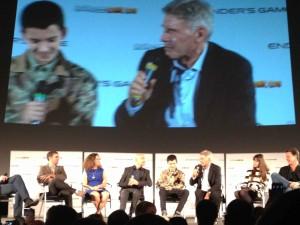 Ender's Game Q&A - Harrison Ford, Asa Butterfield, Ben Kingsley, Gavin Hood, Gigi Pritzker