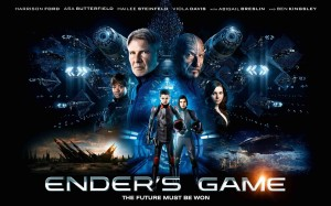 Ender's Game Q&A - poster