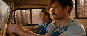 Prince Avalanche - Paul Rudd, Emile Hirsch, driving