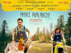 Prince Avalanche - Paul Rudd, Emile Hirsch, quad poster