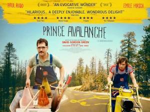 Prince Avalanche - Paul Rudd, Emile Hirsch, quad poster