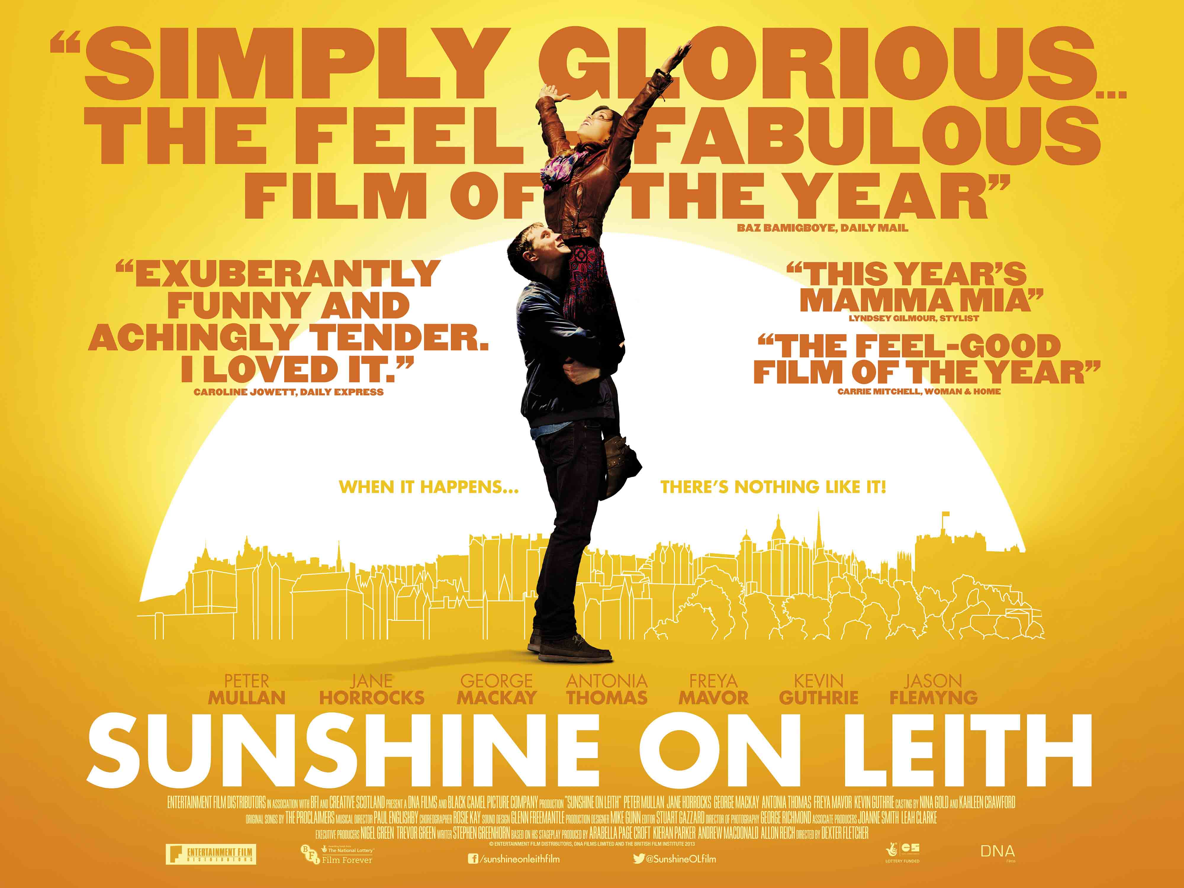 Movie Review: Sunshine on Leith