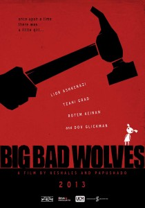 Big Bad Wolves - Keshales, Papushado, poster