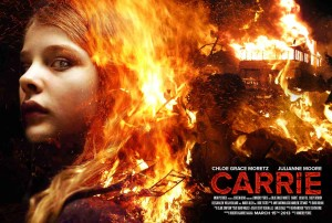 Carrie 2013 - Chloe Grace Moretz, quad poster