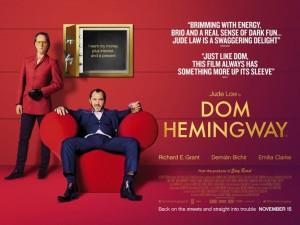Dom Hemingway - quad poster