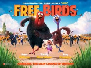 Free Birds - quad poster