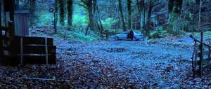 In Fear - Alice Englert, cabin in the woods