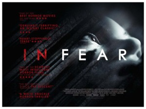In Fear - Quad poster, Jeremy Livering