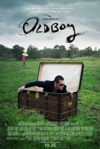 Oldboy - remake, poster, Brolin, Spike Lee