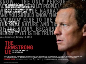 The Armstrong Lie - quad poster