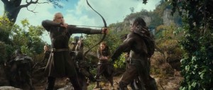 The Hobbit - The Desolation of Smaug - Legolas, Orcs