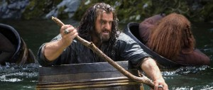 The Hobbit - The Desolation of Smaug - Thorin, Armitage, barrels
