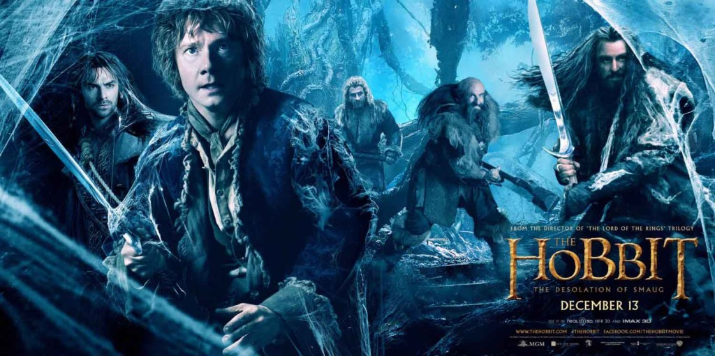 The Hobbit - The Desolation of Smaug - banner poster