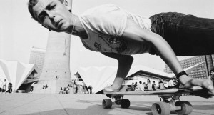This Aint California - skateboarding stunt