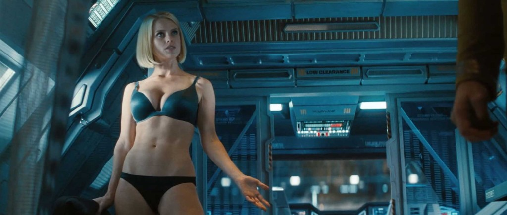 2013 Review - Alice Eve underwear, Star Trek