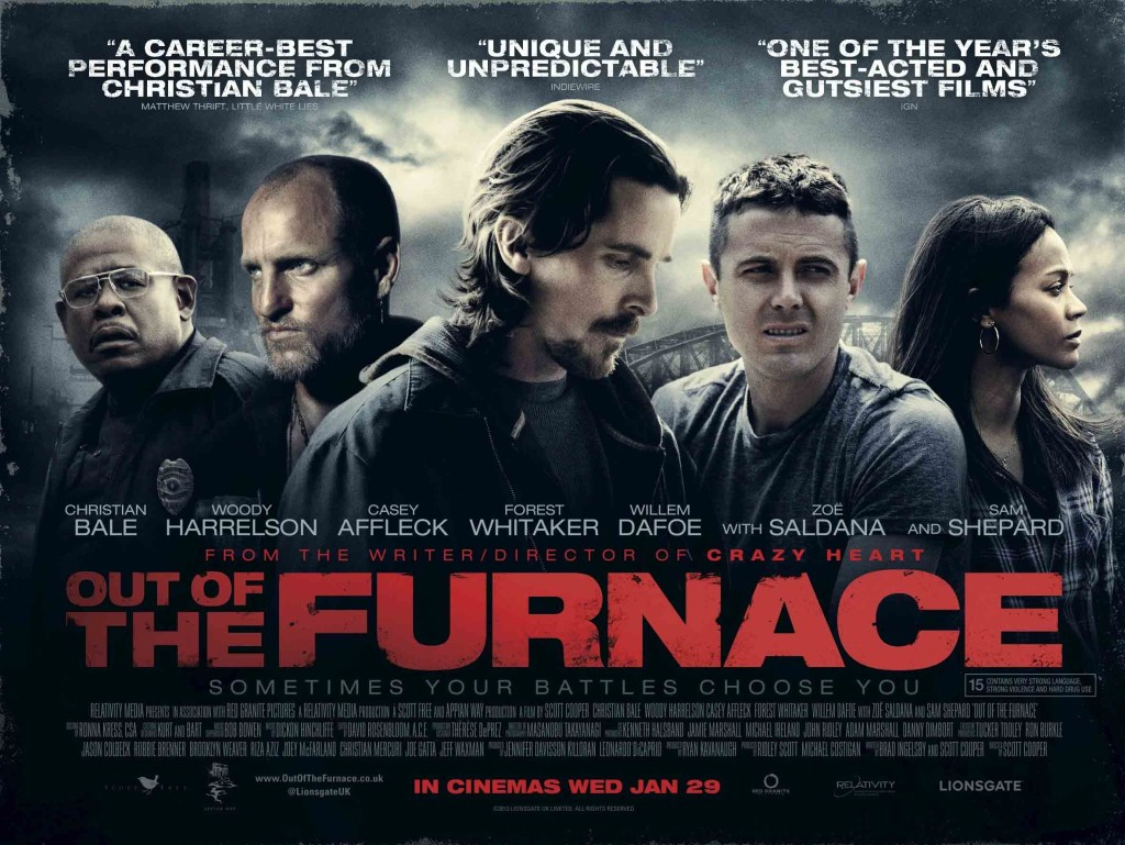 Out of the Furnace - poster quad