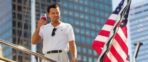 The Wolf of Wall Street - DiCaprio, American flag