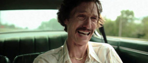 Dallas Buyers Club - Matthew McConaughey, gaunt
