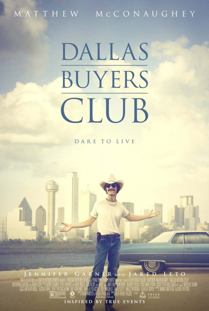 Dallas Buyers Club - Matthew McConaughey, poster