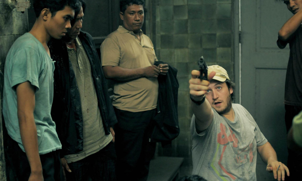 The Raid 2 - Gareth Evans on set