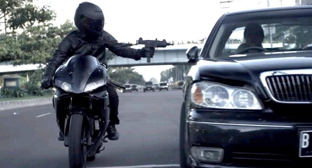 The Raid 2 - car chase